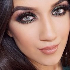 Vibrant Bright Gray Eyes (Halloween Colored Eye Contacts)