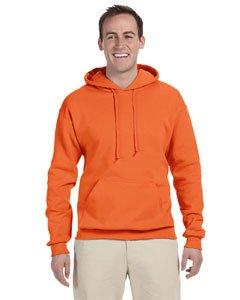 Jerzees Nublend Adult Pullover Hooded Sweatshirt (Tennessee Orange) - Fleece Oxfords Jerzees
