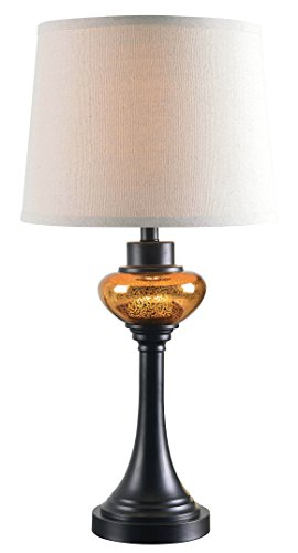 Kenroy Home Trumpet Table Lamp, Oil Rubbed Bronze Finish by Kenroy Home