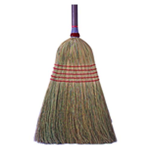 15? Corn Fiber Upright Broom (Pack of 5)