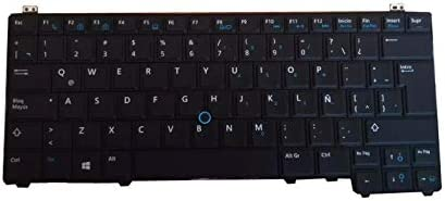 Laptop Keyboard for DELL Latitude E5440 P44G Spanish SP 0Y0RKP Y0RKP Black with Backlit/&Pointing New and Original