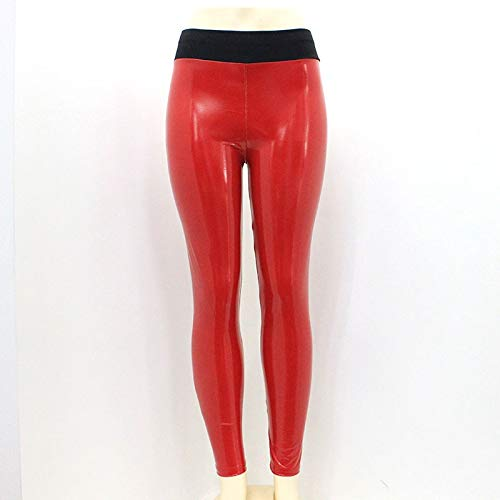 8fd0acdbf9067 Amazon.com: Vinyl Leggings I Wet Look Pu Leather Leggings I Black ...