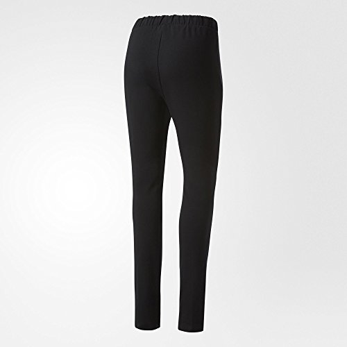 adidas Slim Tp Cuf Pantalón, Mujer Negro