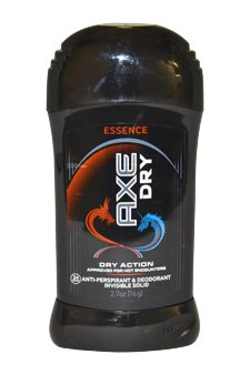 New Essence Dry Action Invisible Solid Antiperspirant Axe For Men 2.7 Ounce Deodorant Stick
