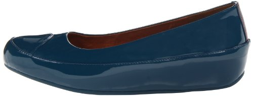 Blue diving Ballerina Fitflop Taglia Blu Patent Due ngq77XwxHY