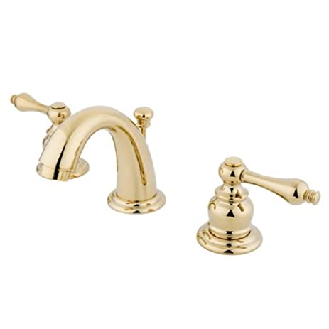 Kingston Brass KB912AL Victorian Mini Widespread Lavatory Faucet ...