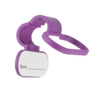 Stethoscope ID Tag- Purple by MDpocket