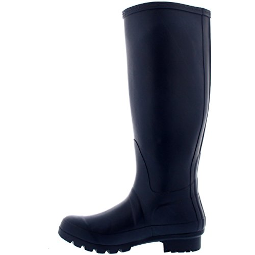 NAO38 Tall 7 Wellies Polar Snow Boots Womens Rain Winter Waterproof Wellington Original BL0207 fqPxqOwH