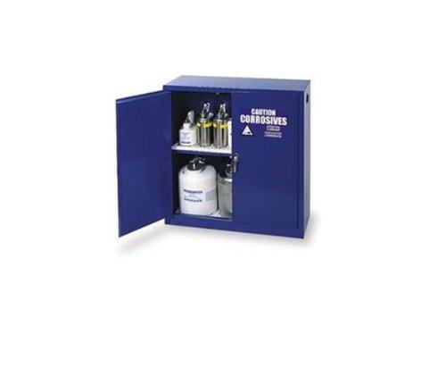 Eagle CRA30X Acid And Corrosive Safety Cabinet, Sliding, 1 Door, 1 Shelf, 43 Width x 44 Height x 18 Depth, 30 Gallon Capacity