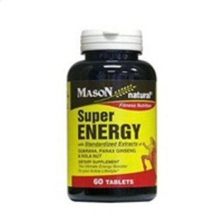 Mason Vitamins Mason Natural Super Energy fitness nutrition tablets - 60 ea