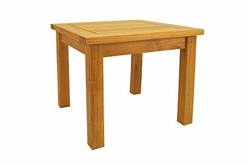 Anderson Teak Bahama Square Mini Table, (Anderson Teak Furniture)