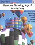 Ramona Quimby, Age 8 Teacher Guide, Novels Units, 1561374482