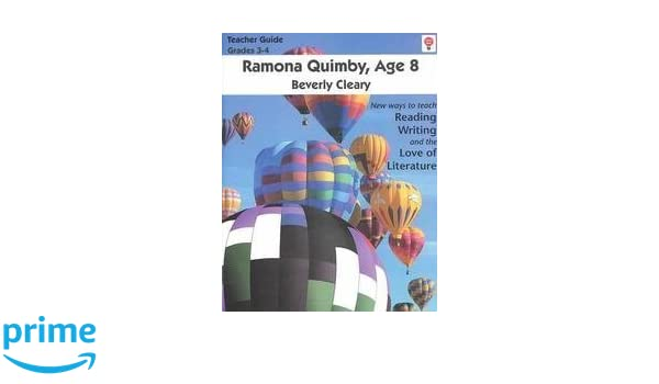 Ramona Quimby Age 8 Teacher Guide by Novel Units Inc Ramona – Ramona Quimby Age 8 Worksheets