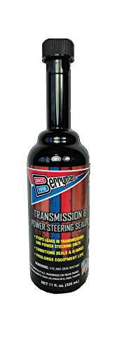 Berryman 712 Transmission and Power Steering Sealer 11-Ounce Easy Pour-in Long-Neck Bottle, Fluid