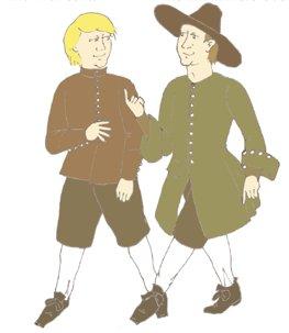17th Century Irish Tawnamore Outfit (17th Century Costume Patterns)