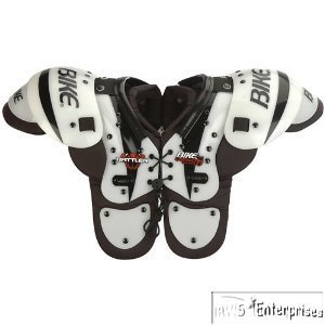 Bike Rattler BYSH12 Extended sternum YTH football shoulder pads S 80-99 lbs. (Bike Football Shoulder Pads)