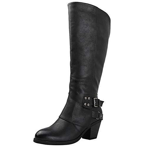 (GLOBALWIN Women's 18YY29 Black Fashion Boots 8.5M)