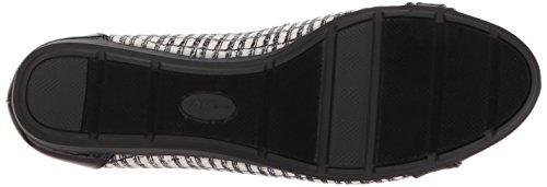 Talla Zapato Fabric Anne Ivory Piso De Mujeres black Klein multi qHxxvXF