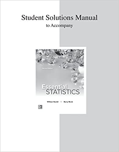 Amazon student solution manual for essential statistics student solution manual for essential statistics 2nd edition fandeluxe Image collections