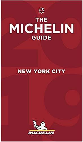 Risultati immagini per Guida Michelin New York City 2019