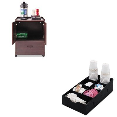 Deluxe Caddy Kit (KITVRT50119VRTVFCC169 - Value Kit - Vertiflex Mobile Deluxe Coffee Bar (VRT50119) and Vertiflex Condiment Caddy (VRTVFCC169))