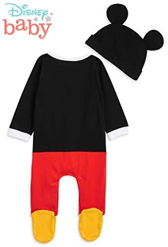 Disney Tutina Neonato di Topolino, Tutine Mickey Mouse da 0 a 24 Mesi, Pigiama Intero Bambina con Cappello, Pagliaccetto… 7