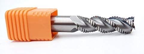 GENERICS LSB-Werkzeuge, Schruppfräser for Aluminium oder Legierung, Hartmetallfräser von D6.0 bis D20.0 for CNC-Fräsmaschinen (Dimensions : D14.0X30mm L100mm 3Z)