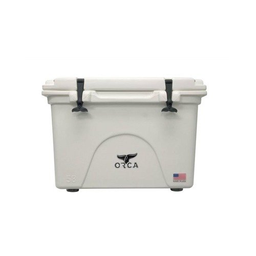 (ORCA BW058ORCORCA Cooler, White, 58-Quart)