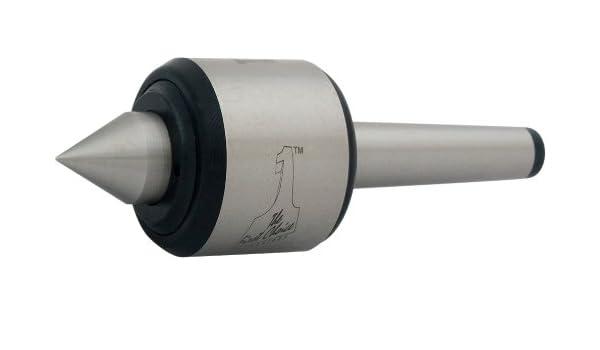 Dorian Tool PLC-PRE-S60-MT4 Perfetta Morse Taper#4 Chromium-Molybdenum Alloy Steel Precision Steel Point Live Center 2-25//64 Shaft Head Diameter 1-1//8 Point Diameter 60 Degree Point