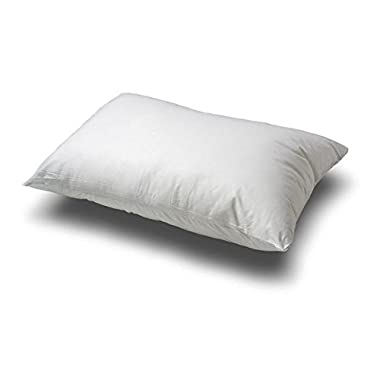 Premium 100% White Goose Down Firm Pillow, Queen Size