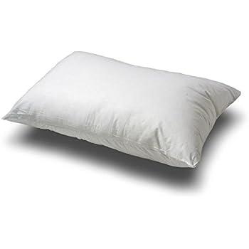 Premium 100% White Goose Down Medium Firm Pillow (Queen)