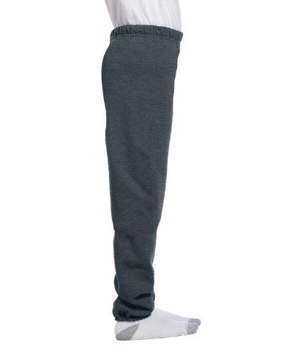 Jerzees 973B Youth NuBlend Sweatpants - Black Heather Medium