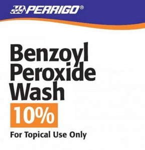 Price comparison product image BENZOYL PEROXIDE LQ 10%227GM WASH