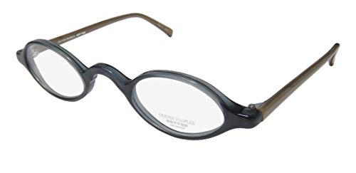 Oliver Peoples Skat Mens/Womens Designer Full-rim Unique Design Simple Uni Eyeglasses/Eyeglass Frame (41-26-143, Dirty ()