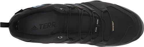 adidas outdoor Men's Terrex Swift R2 GTX¿ Black/Black/Bright Blue 6.5 D US by adidas outdoor (Image #1)