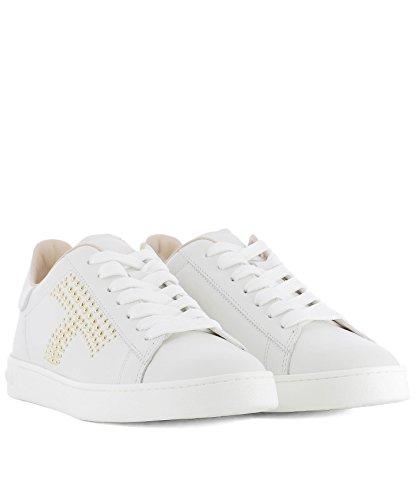 Tods Damen Xxw12a0x22008vb001 Weiss Leder Sneakers