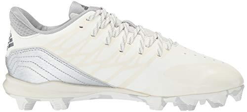 adidas Icon 4, Cloud White/Silver Metallic/Grey 4.5 M US Big Kid by adidas (Image #7)