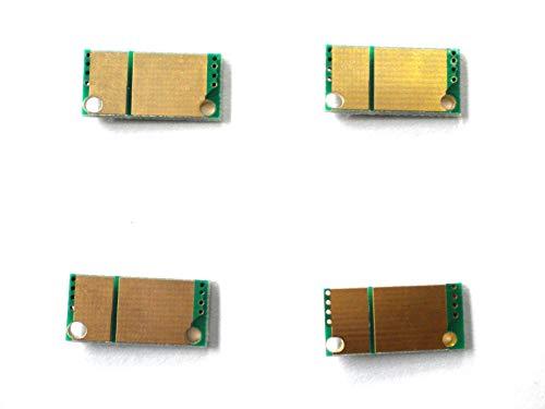 FidgetFidget Toner Reset Chips for Konica Minolta Bizhub C452 C552 C652  TN413, TN613 4 x