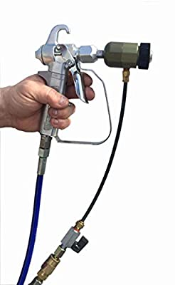 Texture Sprayer Air Atomizer Kit, Gun Not Included, Fits Graco, Titan, Wagner Airless Guns from Benron Equipment & Supply, Inc.