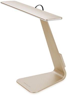 Vansuky LED lámpara de mesa recargable (800mA), Touch Control 3 ...