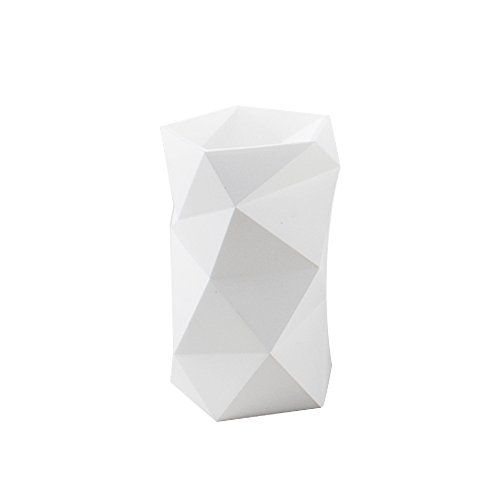 TENGCHUANG Creative Design Silicone Pen and Pencil Holder (White)
