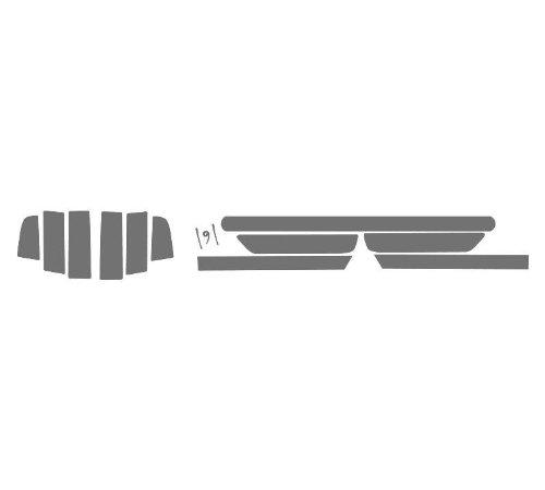(Subject 9 - Fits: Mustang Pre-cut vinyl overlay Taillight PLUS tint (2013 2014) LIGHT)