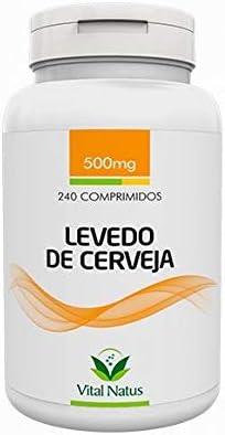 Levedo de Cerveja - 240 Comprimidos de 500mg - Vital Natus