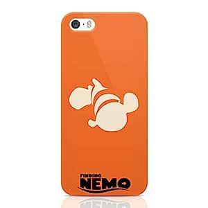 Loud Universe Orange Nemo Minimal Iphone 5 / 5s Case Finding Nemo Poster Iphone 5 / 5s Cover with 3d Wrap around Edges