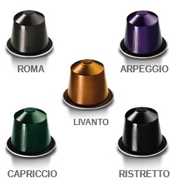 nespresso variety pack for originalline 50 capsules oz import it all. Black Bedroom Furniture Sets. Home Design Ideas