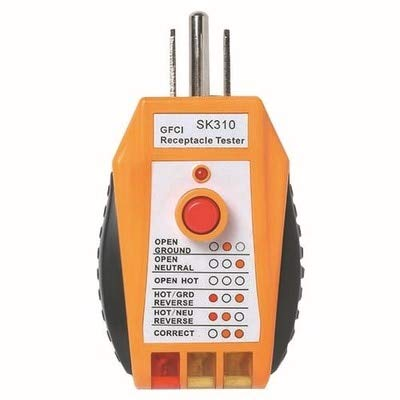 (Dalab Earthing Socket Safety Tester US Socket Electric Outlet Receptacle Tester)