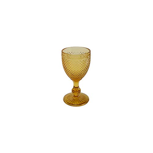 Jogo Taças Vinho Quadrifoglio Âmbar