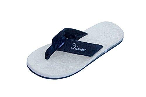 Islander Slippers Man White / N. Blue