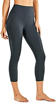CRZ YOGA Women's Naked Feeling I High Waist Tight Yoga Pants Workout Capris Leggings - 21 In