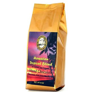 (Chocolate Fudge Flavored, Kona Hawaiian Coffee Blend, 8 Oz, Ground)